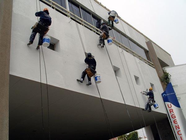 limpieza y pintura fachadas